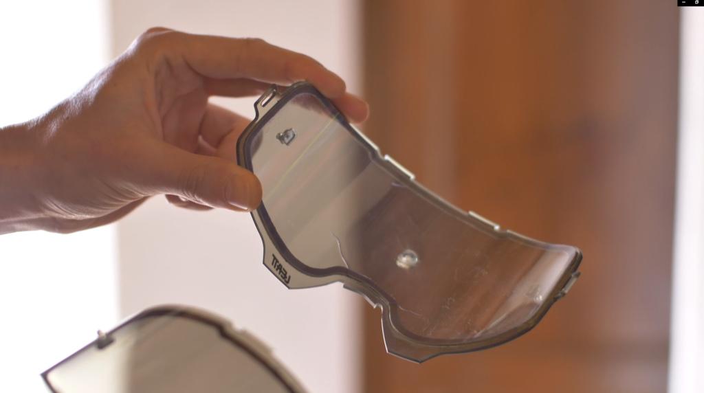 Leatt bulletproof lens