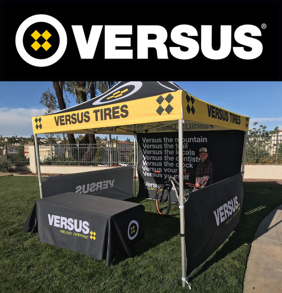 Versus Tires making their debut at a DVO Bootleg event. Not for the feint of heart.