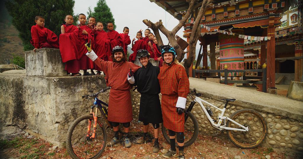 Riding the Madman Trails of Bhutan.