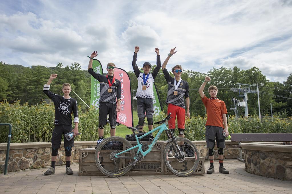 2019 King Of The Mountain Enduro U19 Podium