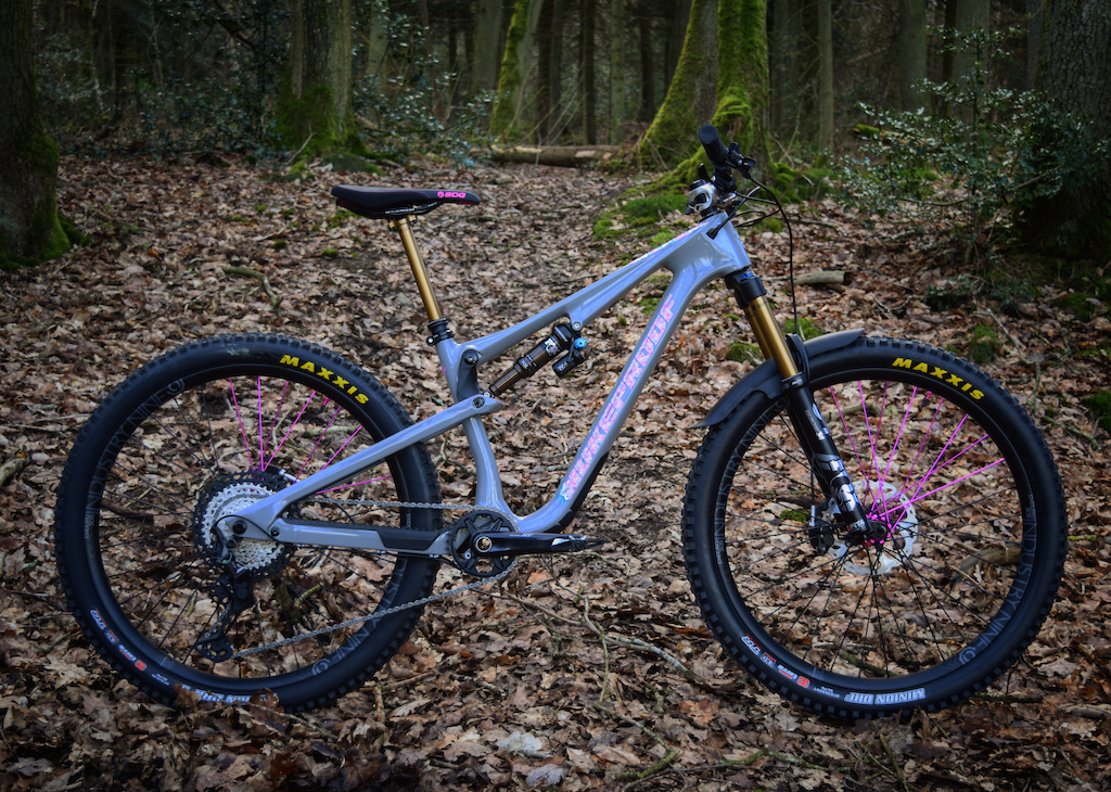 Megs Nukeproof Reactor with custom invisiFRAME Decals