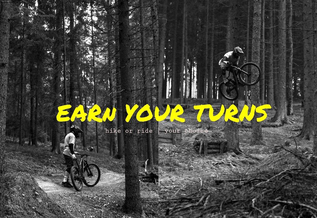 EARN YOUR TURNS