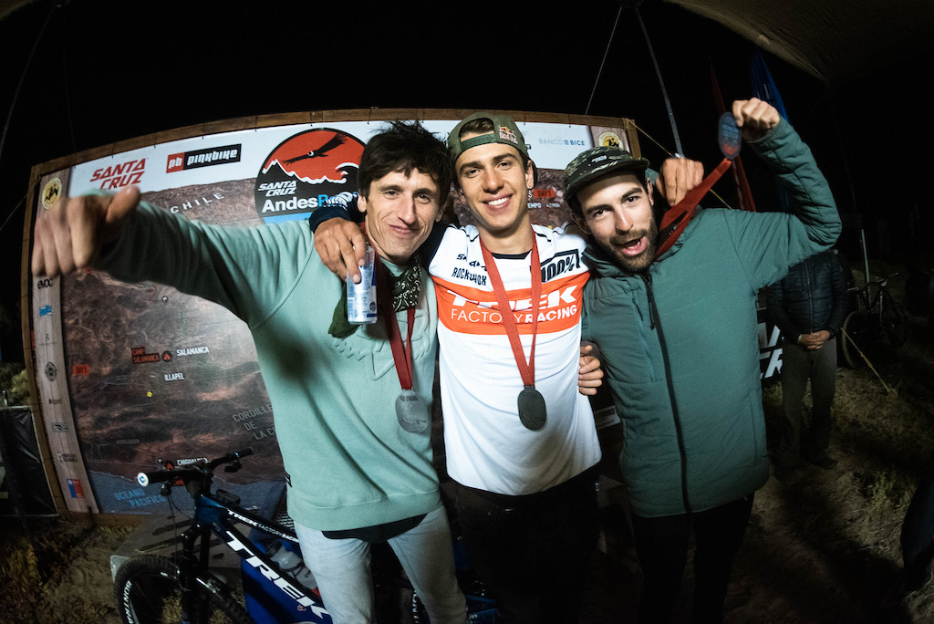 1st Pedro Burns 2nd Romain Paulhette 3rd Iago Garay