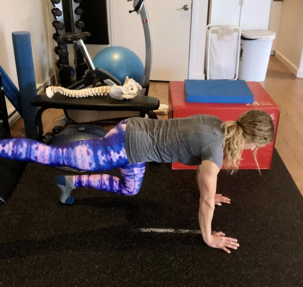 Knee hover progression