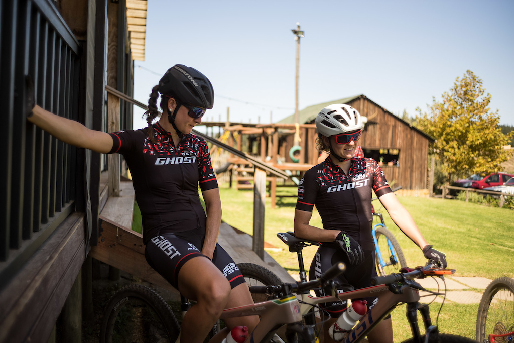 GHOST Factory Racing - Team Camp Souh Africa. Shot by Attention Builders