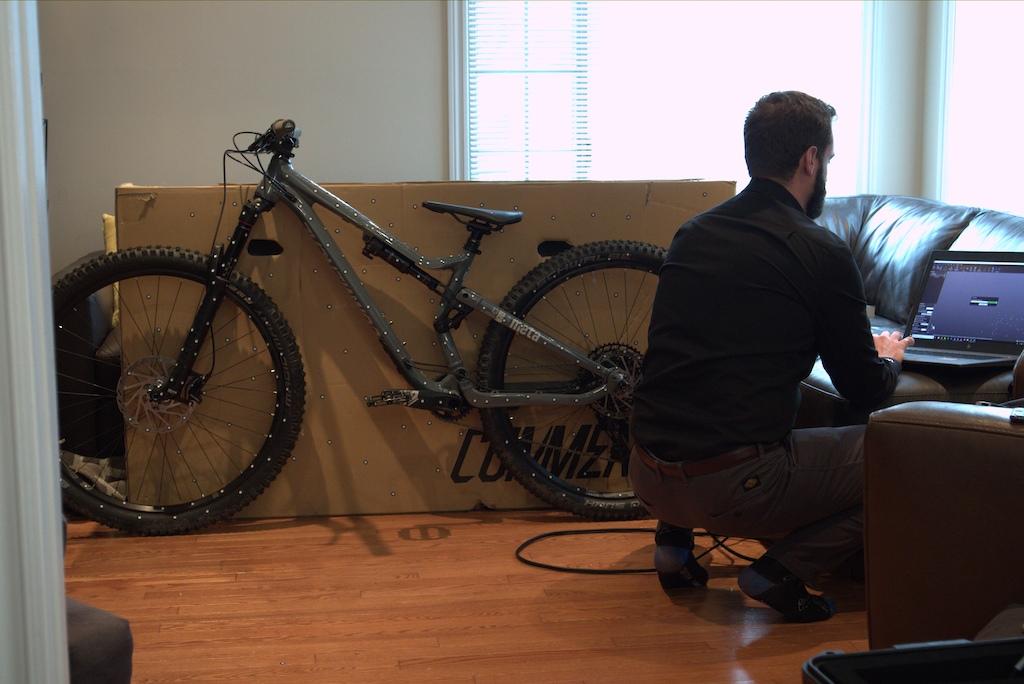 Commencal Meta TR Ride Creaform Scan