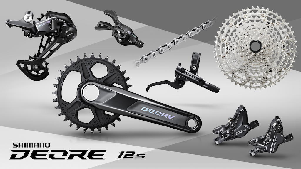 Shimano Deore M6100 Product Photos