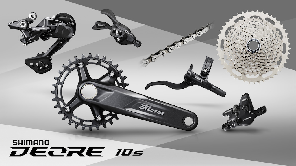Shimano Deore M4100 10-Speed Product Photos