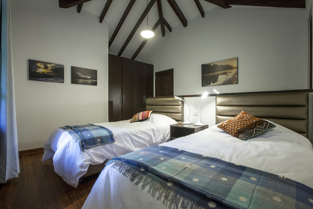 Confortable rooms at the lodge. Perfect to relax post pedaling Photo by delriosudiego