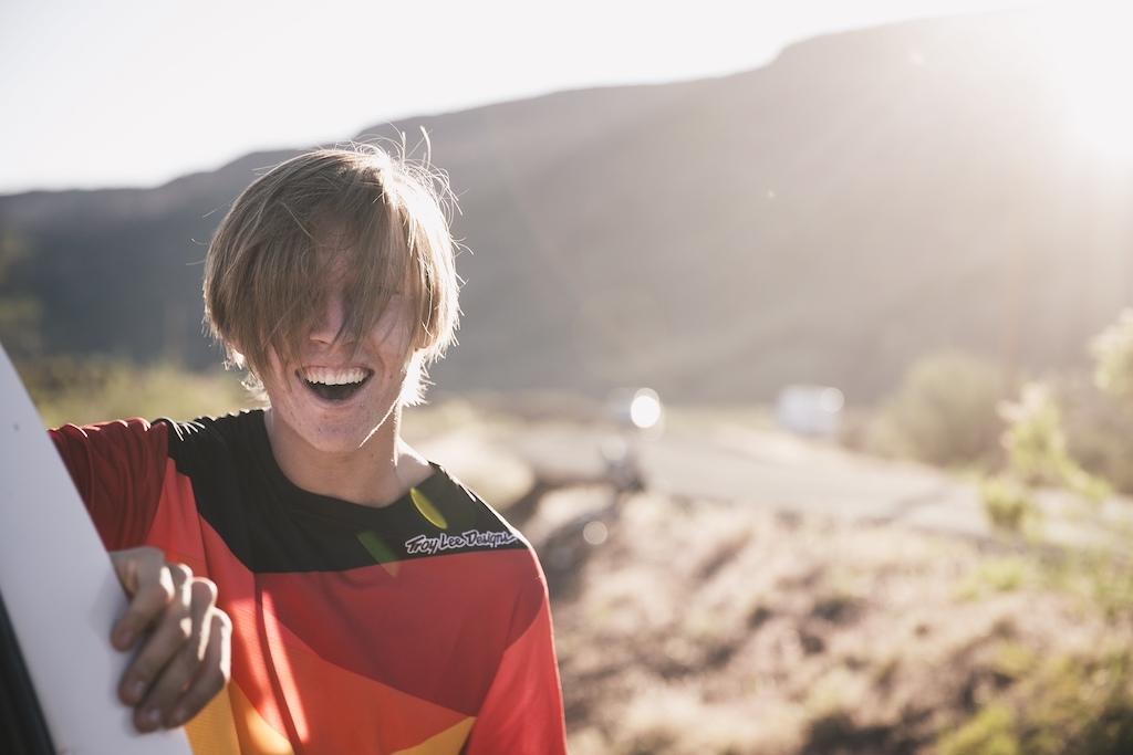 All smiles Shot for Jaxson s recent Space Brace promo Photo Peter Jamison