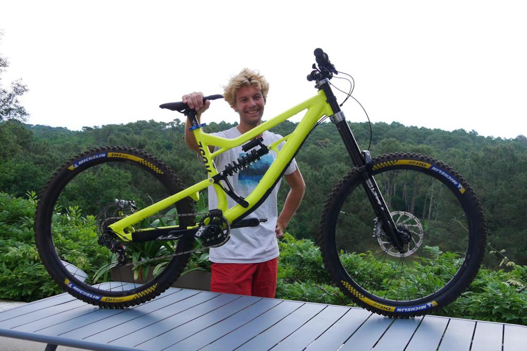 Dude I love bikes