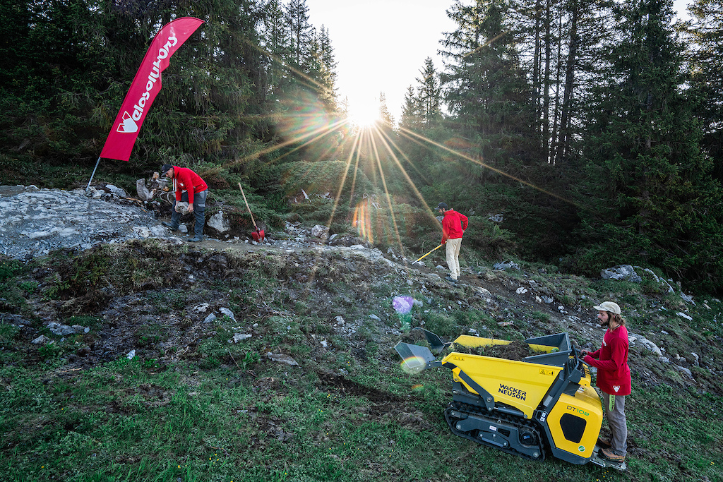 Video: Velosolutions Create the 'World's First Fully Electric Built' Trail in Switzerland