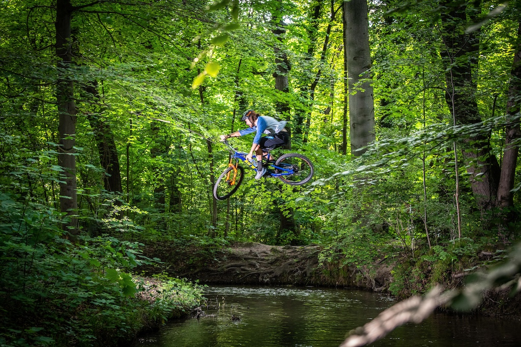 Gapping a River in the English Garden Lars Pamler photo
