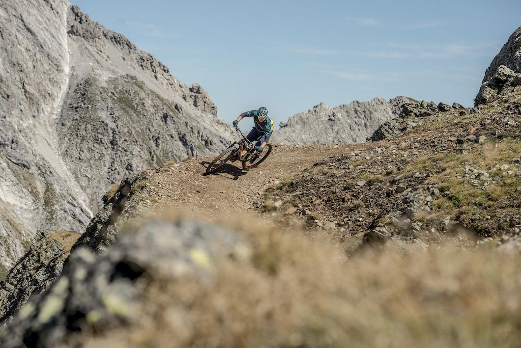 Enduro Allmountain Bike Mountainbike Trail Red Peak Rothorn Copyright Egelmayr Photography