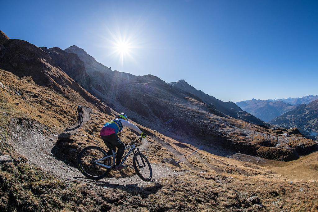 Neue Trails Copyright Balz Weber