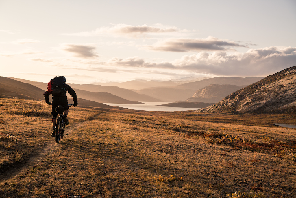 Evening light at the end of a 12 hour day on the Arctic Circle Trail