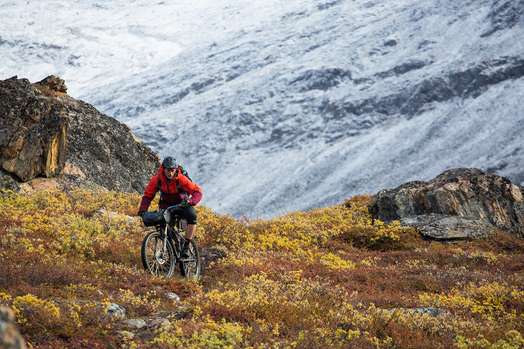 Fun techy descent on the Arctic Circle Trail