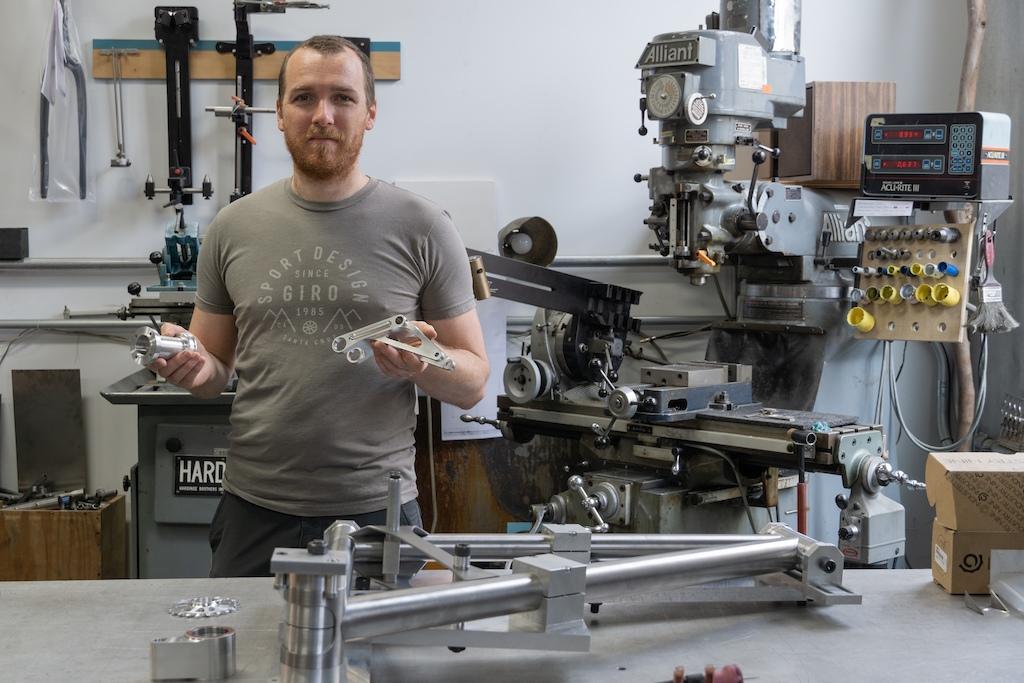 Bike Check Evan Turpen - Fabrication