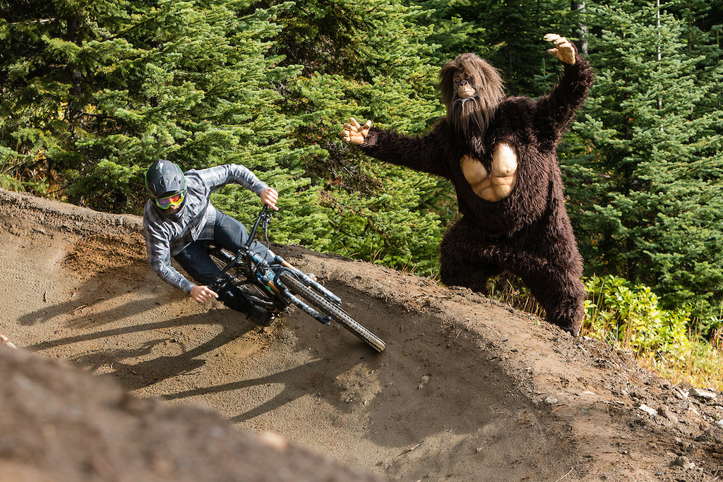 Not all the locals in Sun Peaks are friendly...