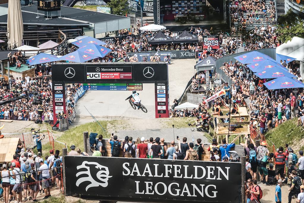 UCIDHI Worldcup Leogang 2019 Finals Fans Moritz Ablinger