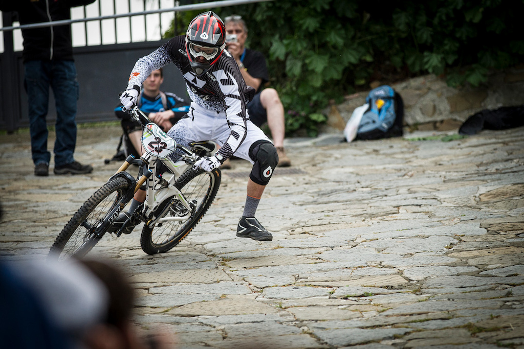 during round 1 of the Enduro World Series at Punta Ala Italy.