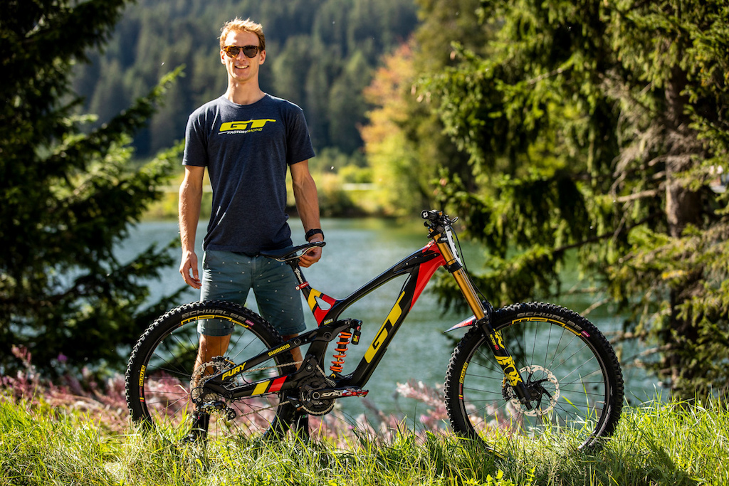 During the 2018 UCI MTB World Championships Lenzerheide Switzerland.