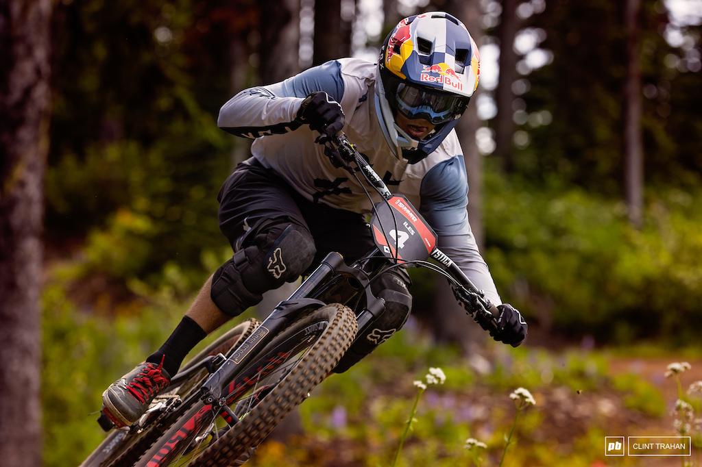 Finn Iles riding Specialized