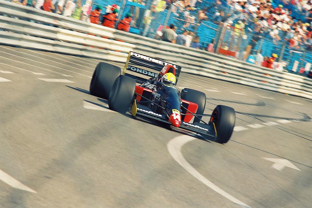 Andrea Chiesa Fondmetal 1992 Monaco Grand Prix - Image from Wikipedia
