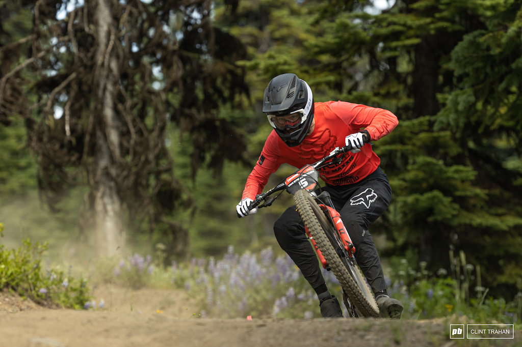 Bas is in the chase for the overall title heading into Kicking Horse.