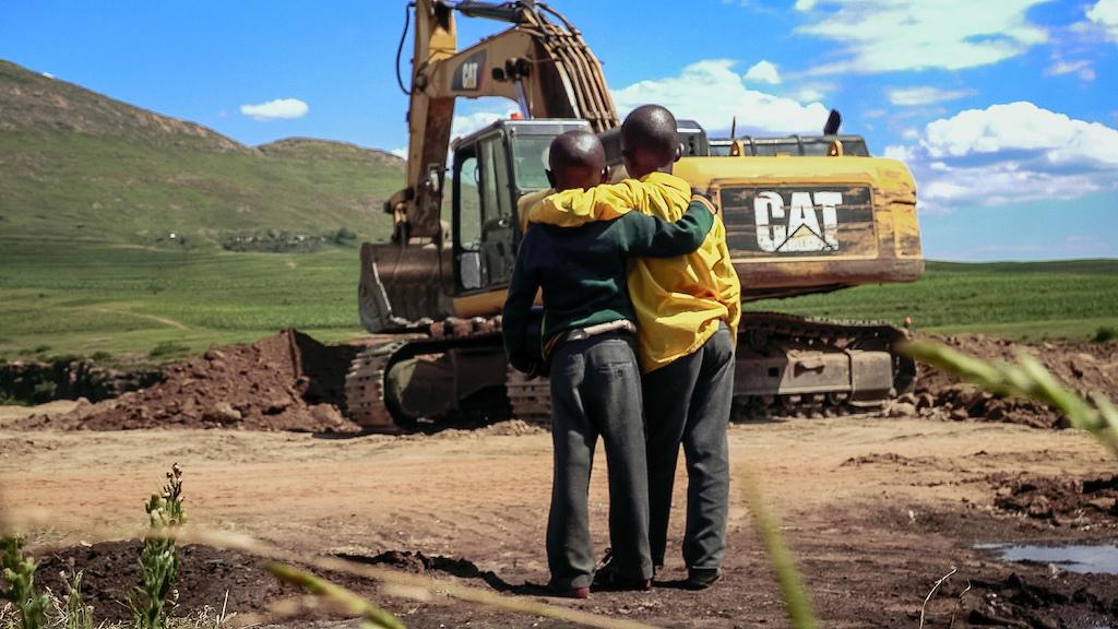 pumpforpeace construction Maseru