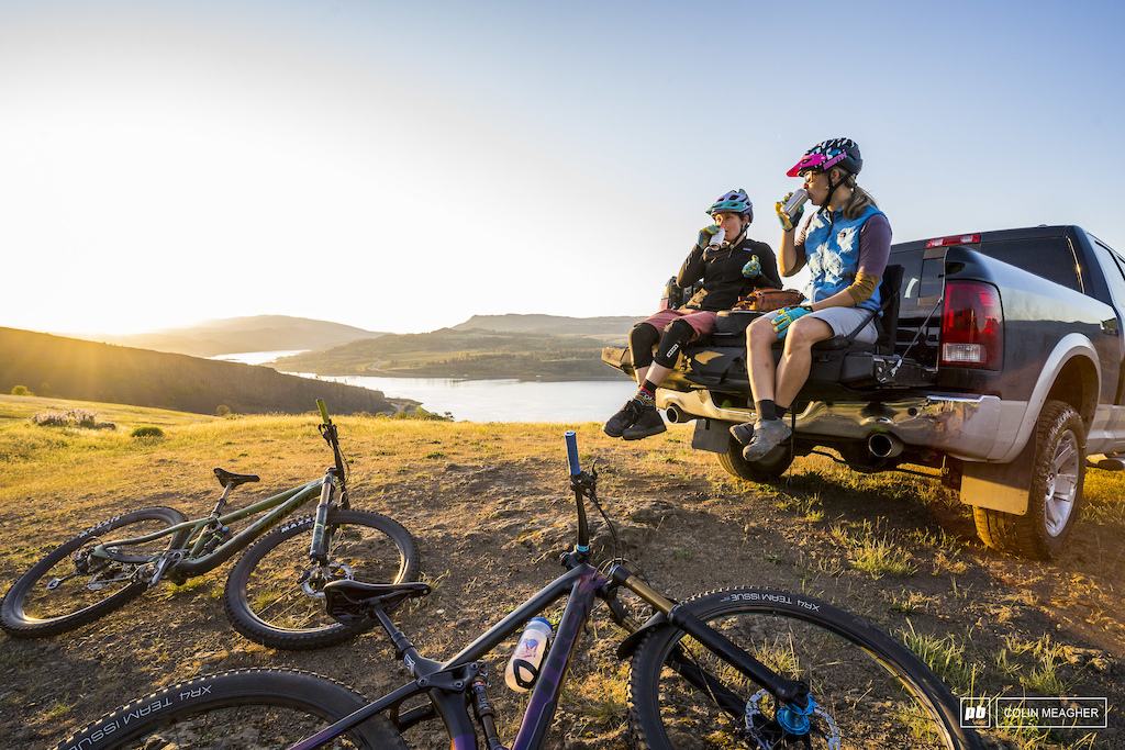Bekah Rottenberg and Nikki Rohan post ride