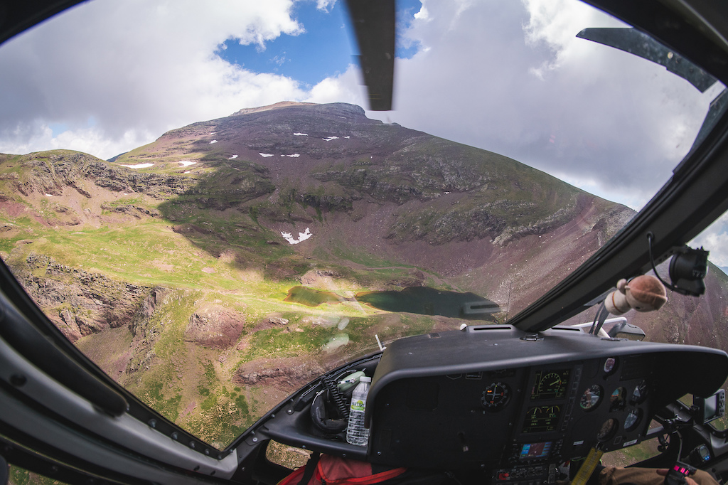 Not Far From Home ep3 Pyrenees Heli drop Altitude Rides