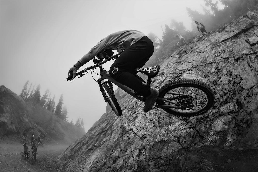 Josh Lewis Sending it for the lens - Deep Summer Whistler 2019