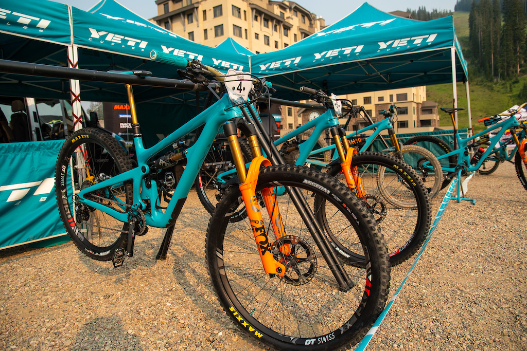 Shawn and Richie s race steeds all fresh and clean after a big first day of racing.