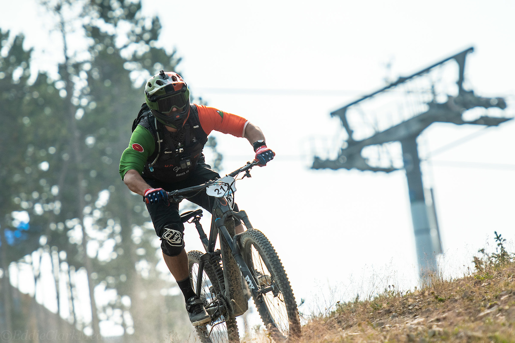 Samuel Durnavich took the inaugural win in the first BME e-bike race.