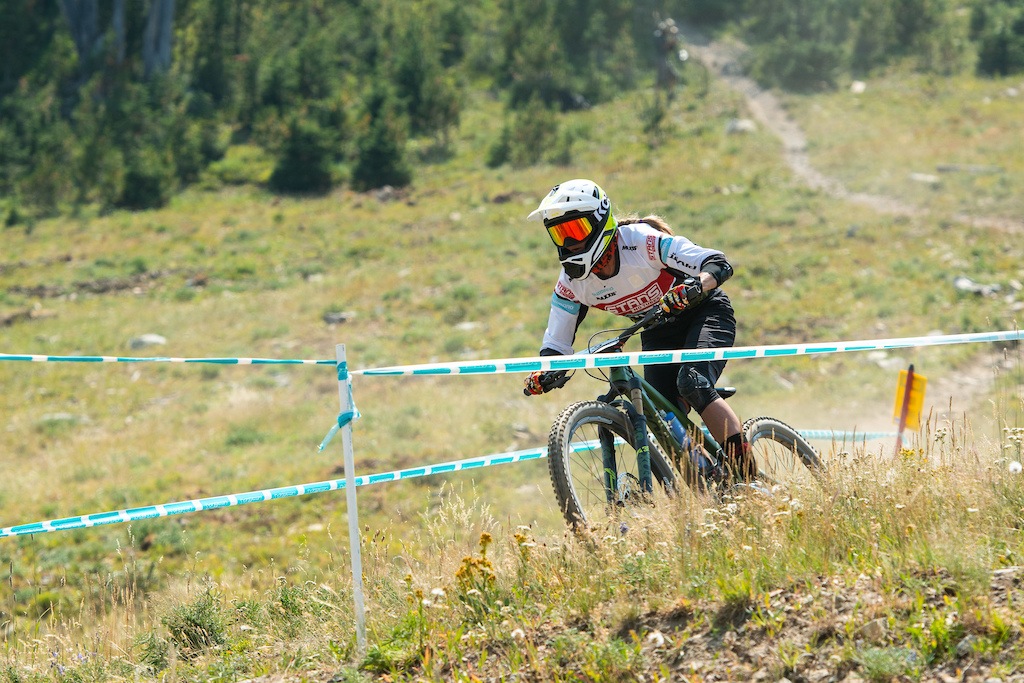 XC pro Rose Grant rode to a seventh overall in the pro women s race.
