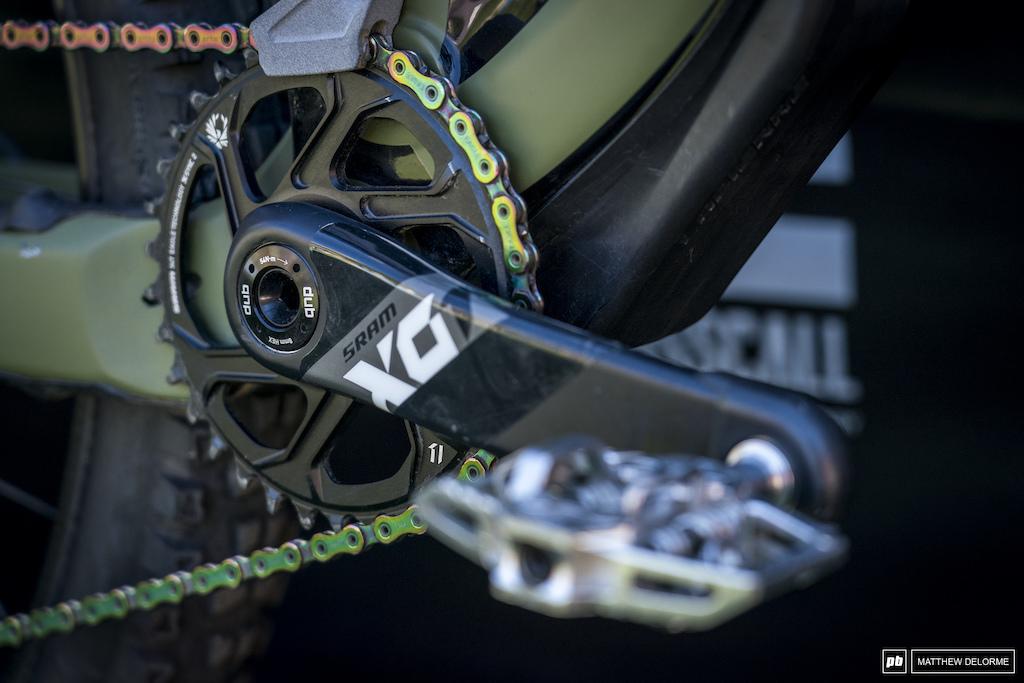 EWS Zermatt bike check