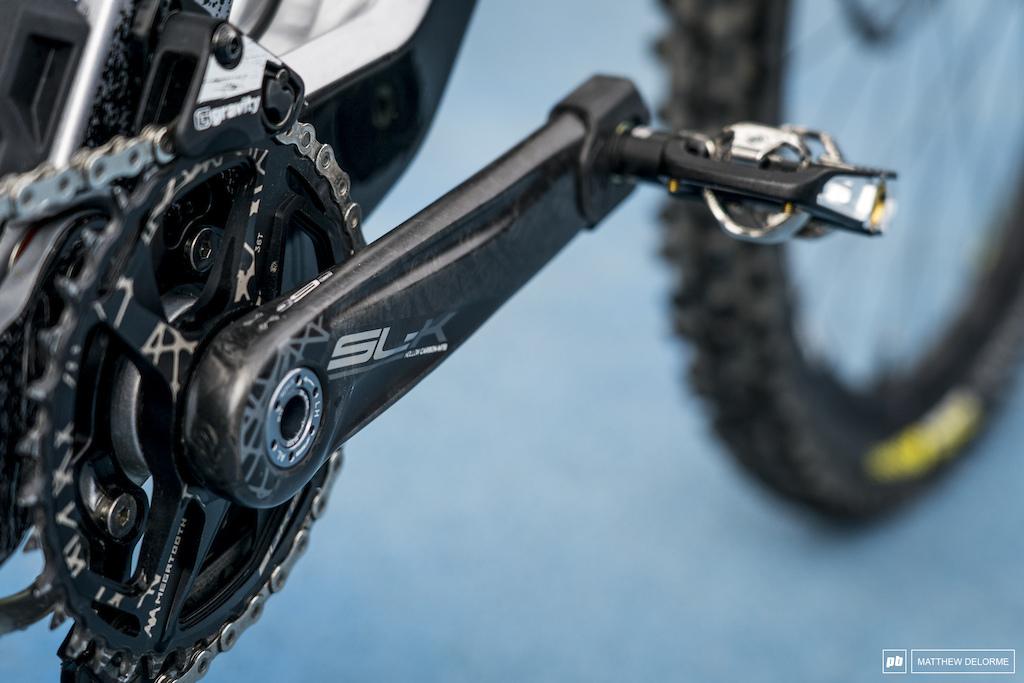 Kevin Miquel bike check