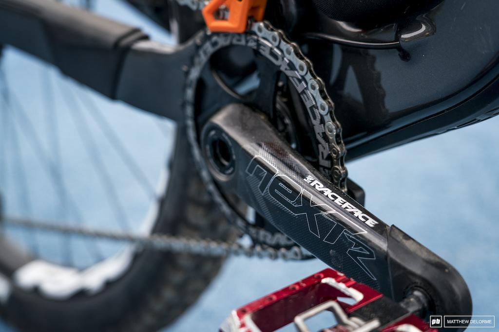 Damien Otton bike check