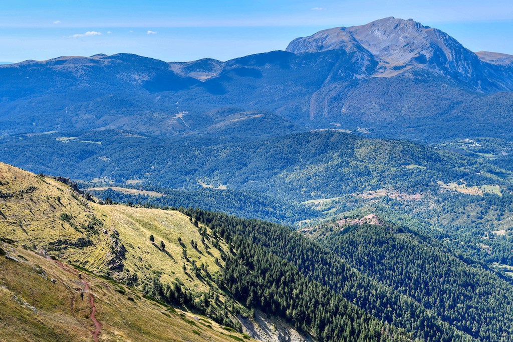 Pyrenees have some big mountains and awesome trails find the riders
