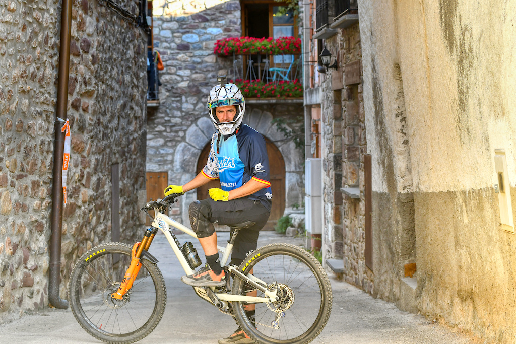 Alex Spa known BMX riders and Spanish champ has also good results in enduro and DH