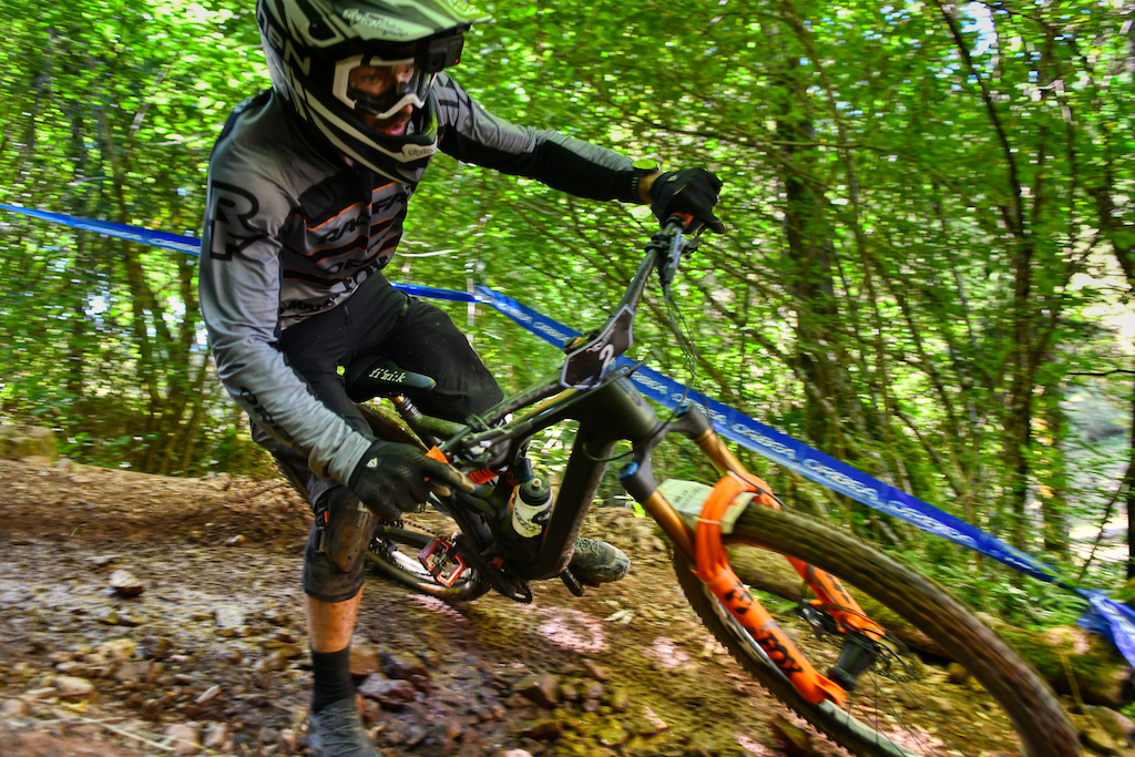 Edgar Carballo from the Orbea Fox Enduro Team is a big contender for the podium