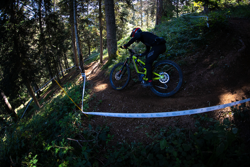 Levy Batista Tribe Rocky-Mountain rider in the forest