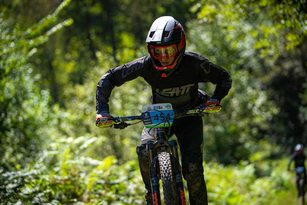 Levy Batista on his way to 3rd place in eBike