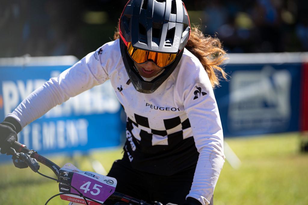 Morgane Jonnier finished 5th