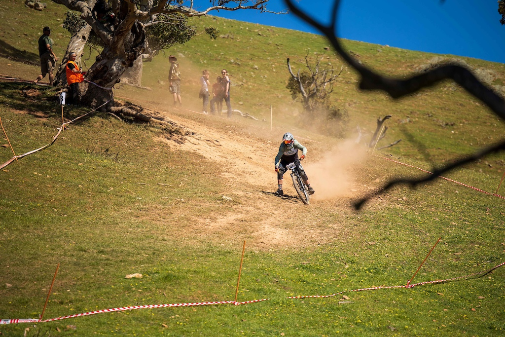 Wide open dusty turns are a staple of Willunga