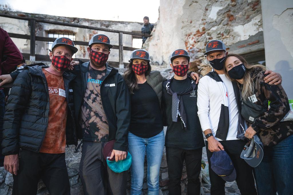 2020 Rocky Mountain Race Face Enduro Team Photo by Kike Abelleira