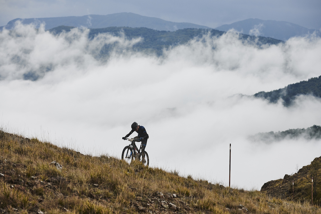 during Stage 6 of the 2020 Appenninica MTB from Castelnovo to Collecchio Emilia Romagna Italy on 2 October 2020. Photo by Marius Holler. PLEASE ENSURE THE APPROPRIATE CREDIT IS GIVEN TO THE PHOTOGRAPHER.