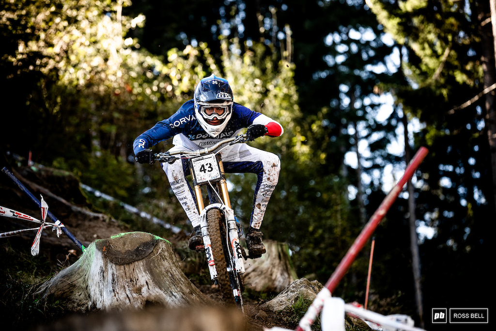 Benoit Coulanges takes the last spot in the top 10.