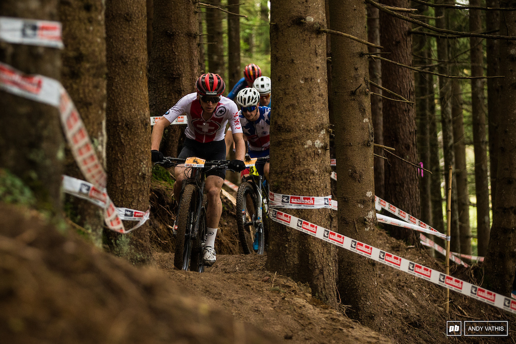 Joel Roth caught Avondetto to secure third but Blevins remained out of sight.